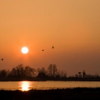 ZonsondergangKraanlannen, Veenhoop